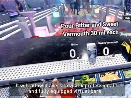 Geek inside / Cocktail et flair en réalité virtuelle