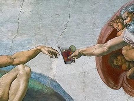 le cocktail dans l'art et l'art du cocktail