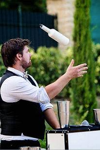 spéctacle barman flair a domicile