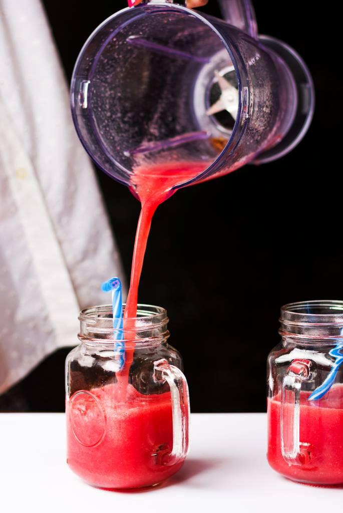 smoothie cocktail au blender