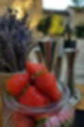 cocktail fruits frais