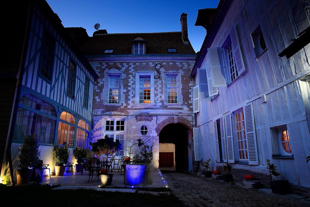Façade de l'Hôtel de Saint Georges