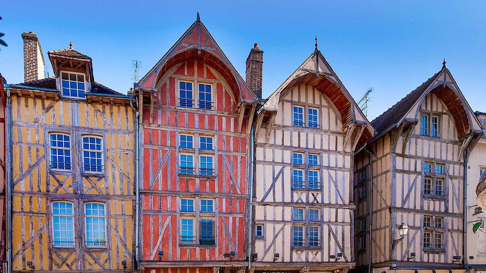 maisons médiévales Troyes