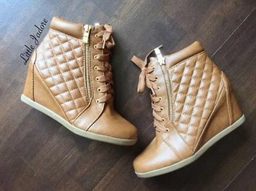 Women Gladys Wedge Sneakers