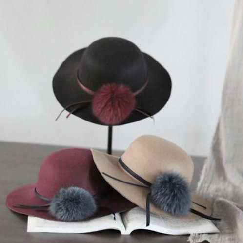 Fur Floppy Hat
