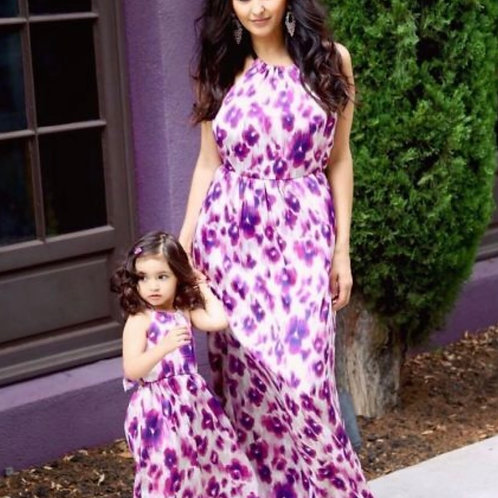 Mommy and Me Freesia Maxi Dress
