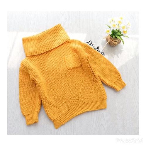 Jane Mustard Sweater