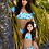 Thumbnail: Mommy and Me Floral Off Shoulder Swimsuit