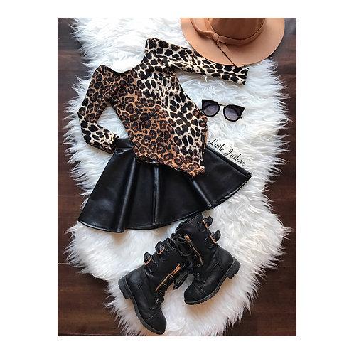Leopard Low Back Bodysuit