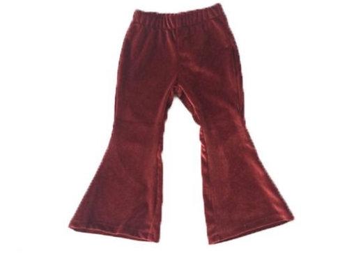 Velvet Bell Pants