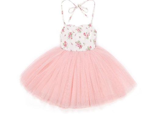 Rose Tulle Dress