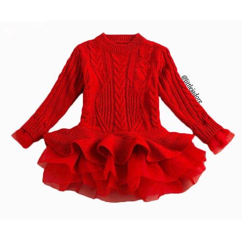 Taylor Knit Sweater Dress
