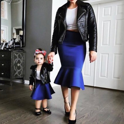 Mommy and Me Mermaid Skirt