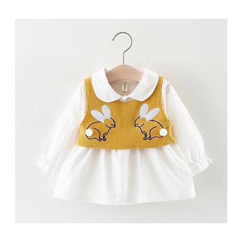 Bunny Shirt Vest Set