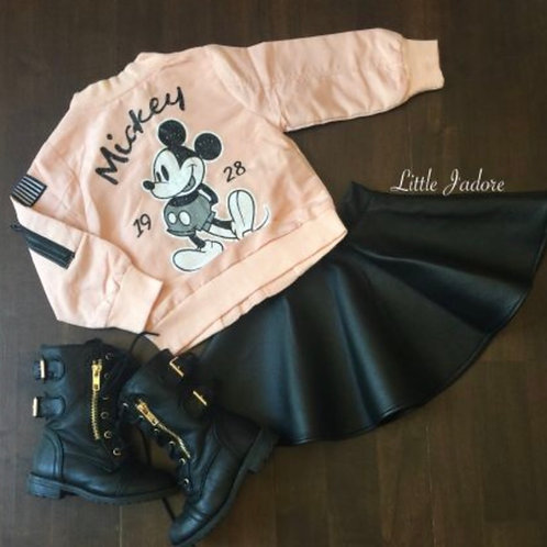 M Pink Bomber Jacket