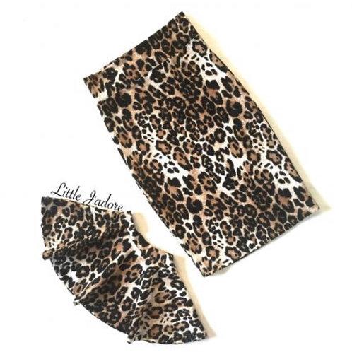 Leopard Skater Skirt