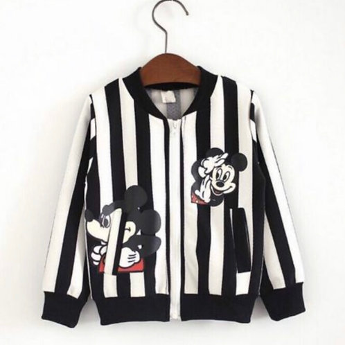 Striped Mickey Jacket