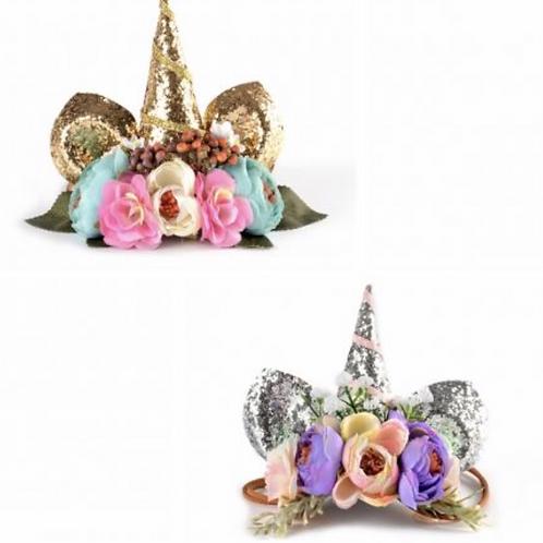 Unicorn Florals Crown