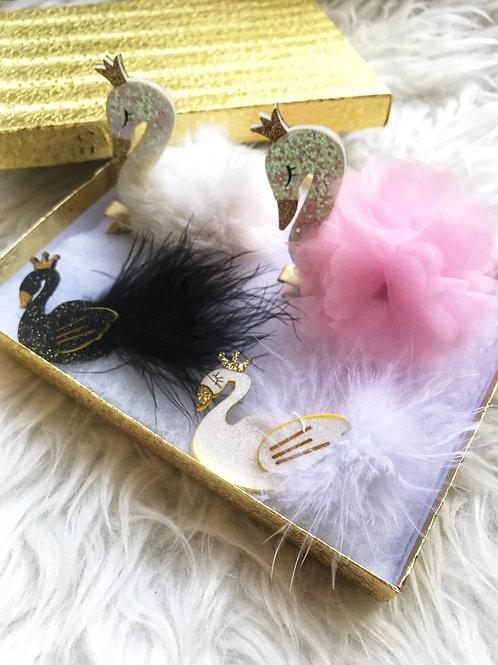 Swan Bow Set