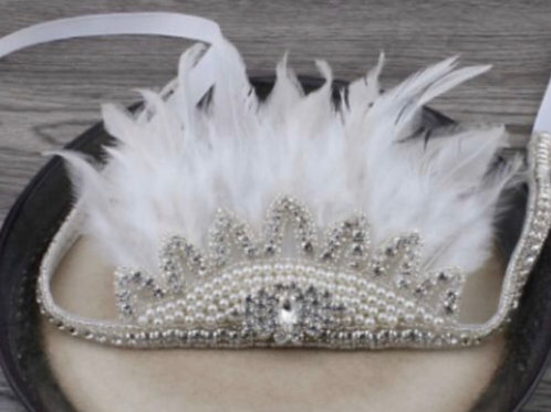 Jewel Feather Crown