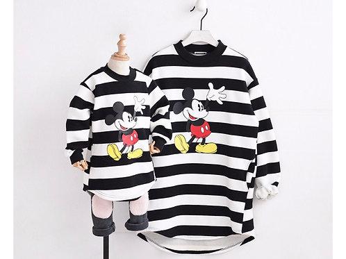 Mommy&Me Striped Sweatshirt