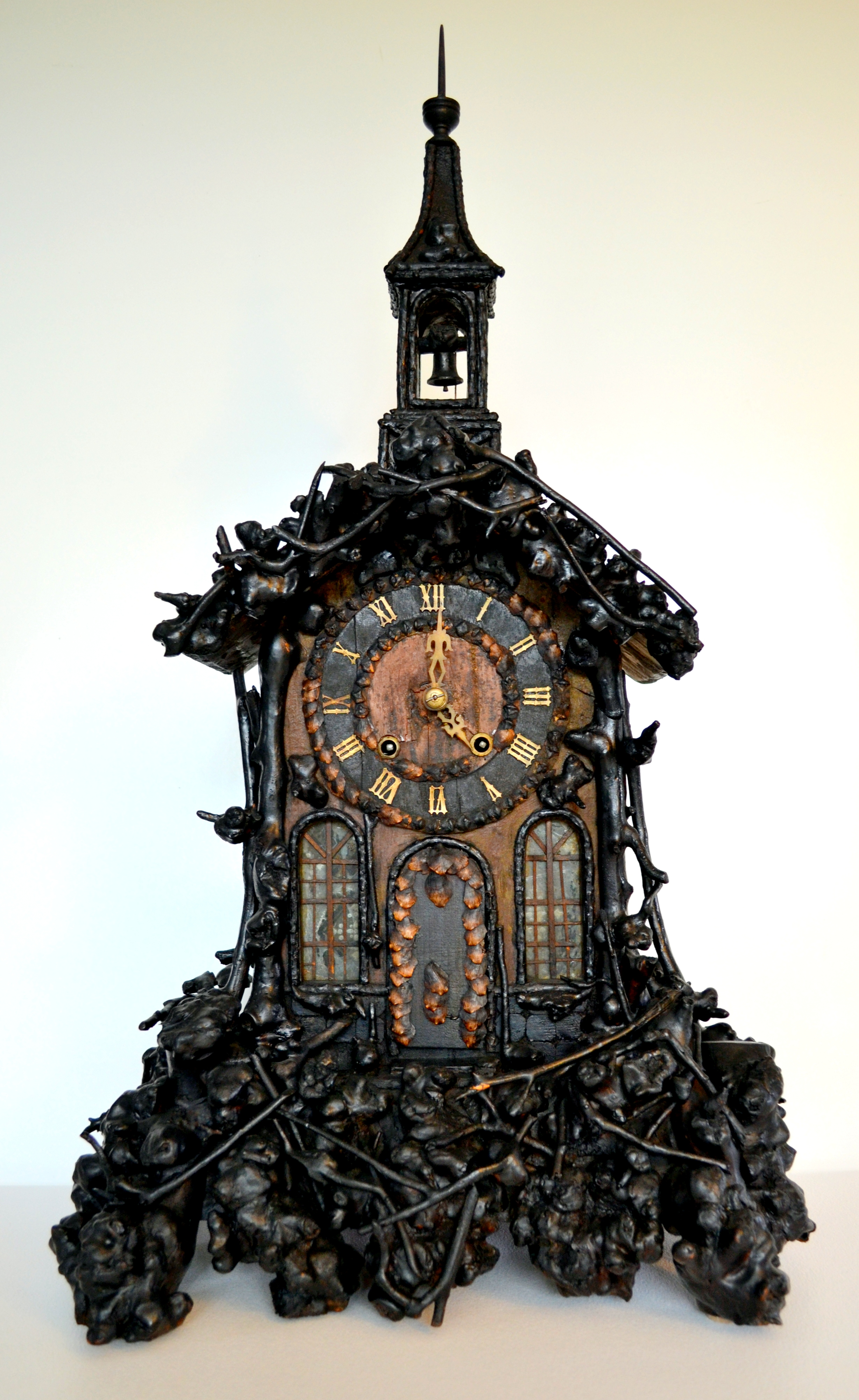 Black Forest Monk Clock