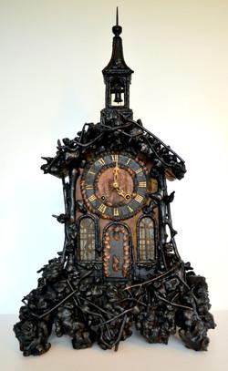Black Forest Monk Clock