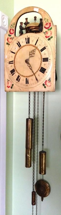 Black Forest Jacks and Bells Clock