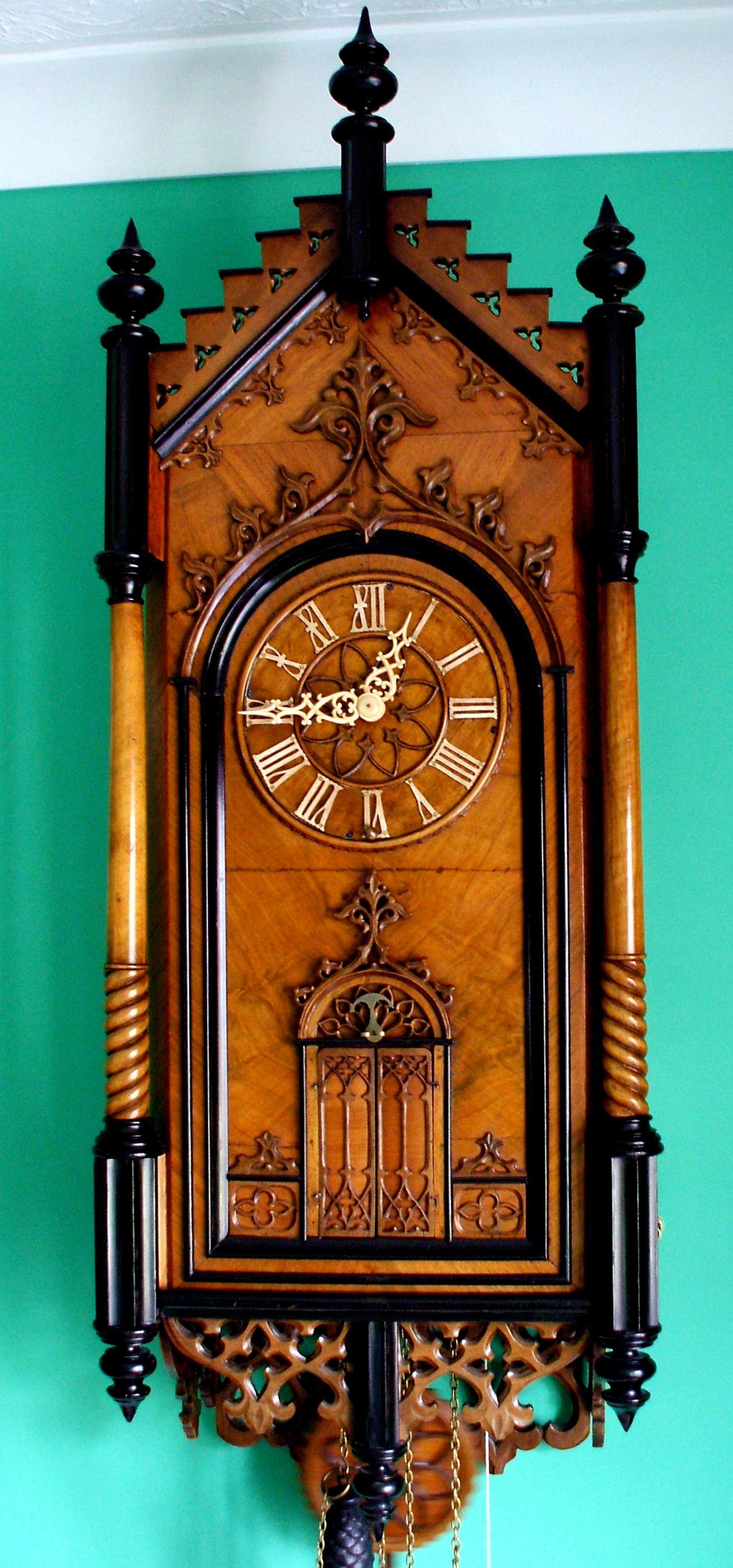 George's Wehrle Black Forest Clock