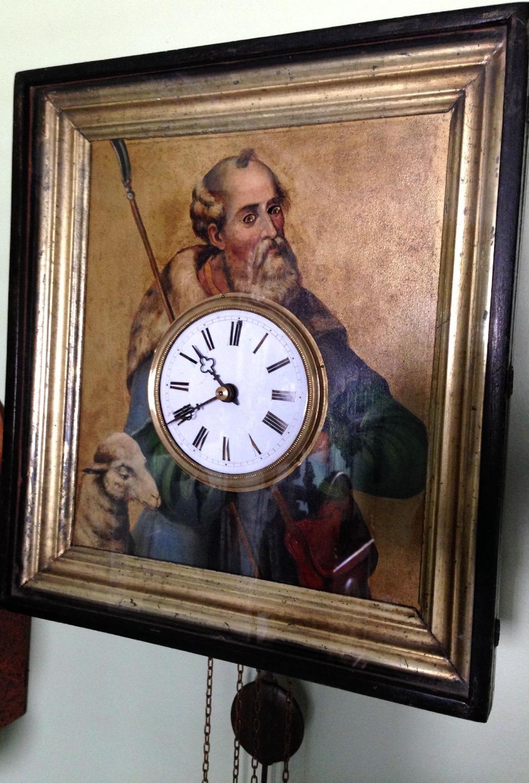 Black Forest Eye Turner Clock