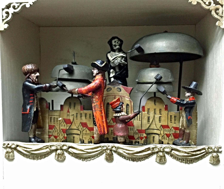 Black Forest 1800's Jacks Clock