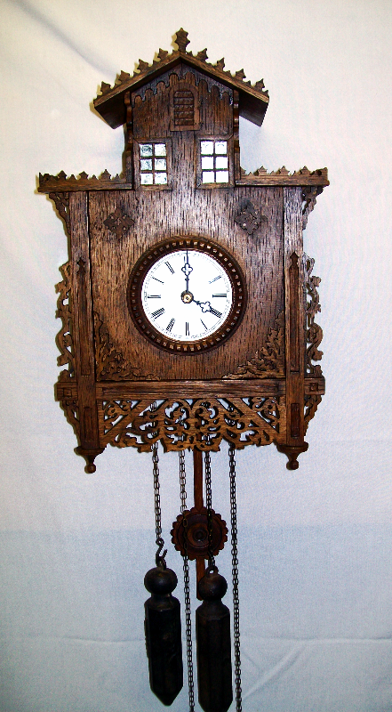 "Black Forest clock  ""Herrenhäusle"""