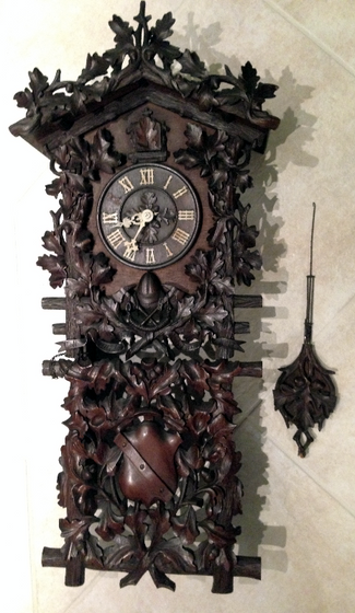 "The Restoration  of a ""one of a kind"" Beha wall Cuckoo clock ""News-Info"" ""Restoration Projects"""