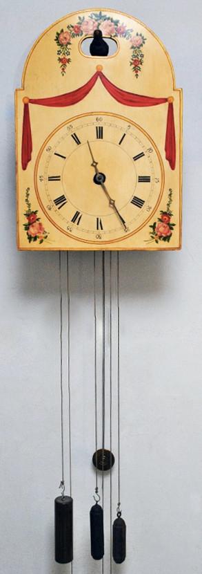 "Black Forest 1800's Blackbird Flute ""Flötenuhr"" clock"