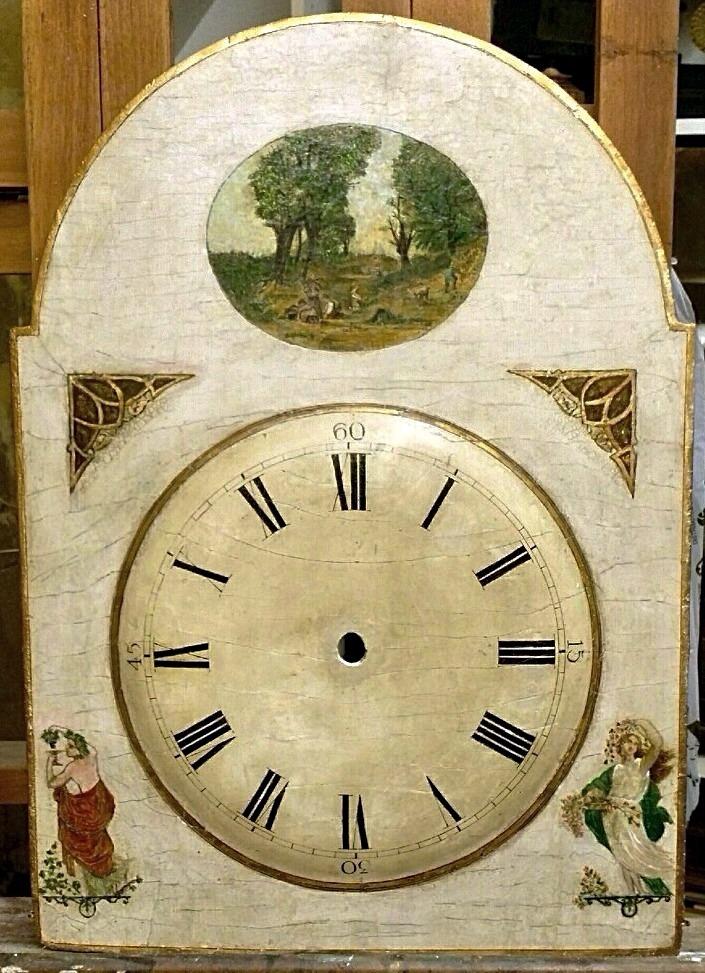 Black forest Clock Hackbrettuhr