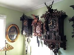 Antique Black Forest Wehrle Clocks