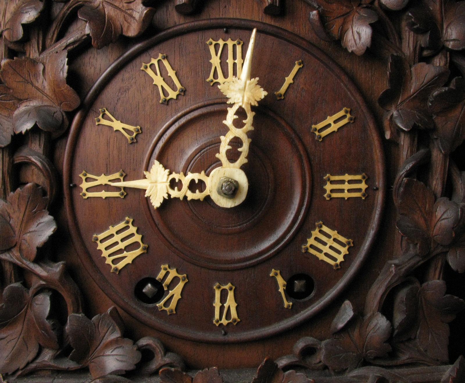 Ketterer Cuckoo Clock Dial Face