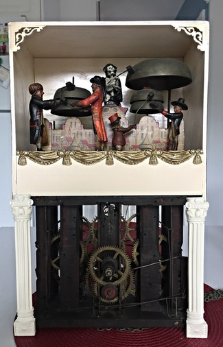 New Restoration Project Started 1800's Five Figure Jacks Clock check it out in (News & Info)