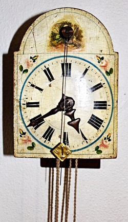 Circa 1780-90's wood gear clock