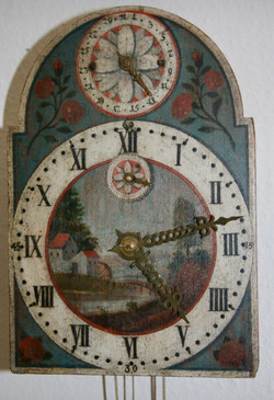 Black Forest Shield Clock Original w