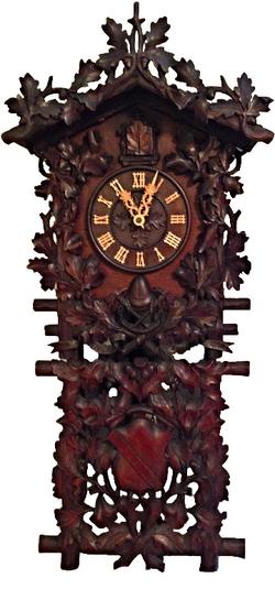 Roy's Beha Firemans's Cuckoo Clock