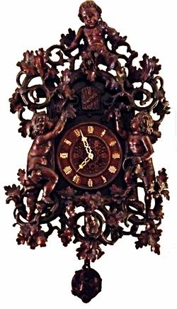 Roy'Black Forest cherub cuckoo clock