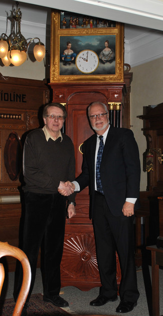"A visit with the famous  collector and author ""Heinrich Engelmann"" under ""News-Info"""