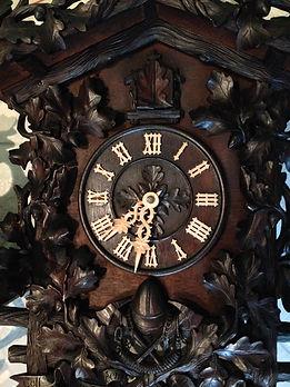 Antique Black Forest Clock Restoration Sevices