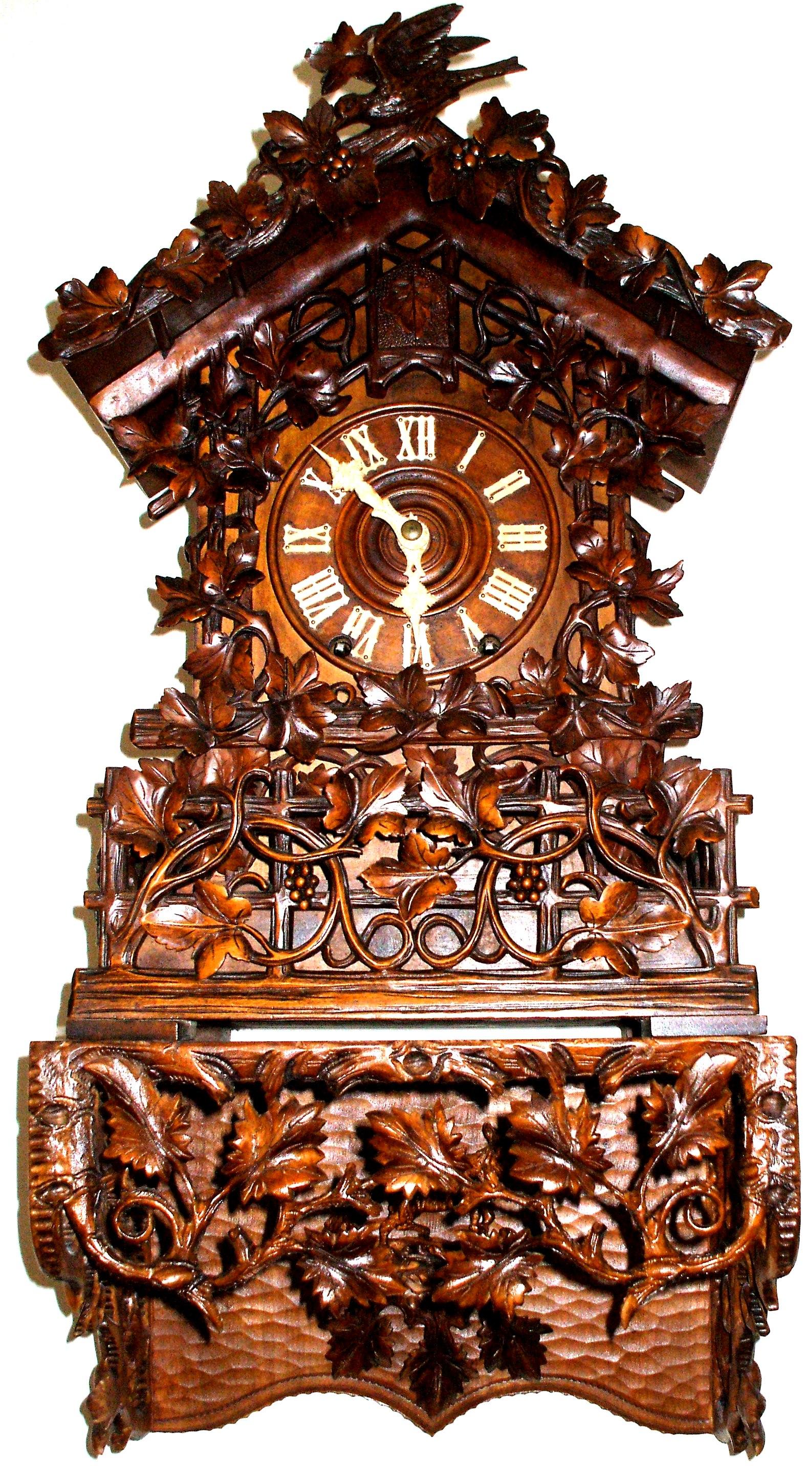 George's Black Forest Beha Clock
