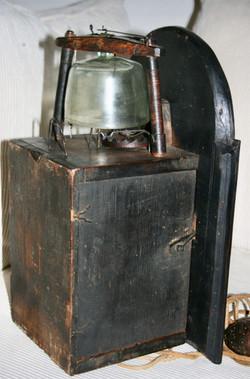 Black Forest Glass Bell Clock