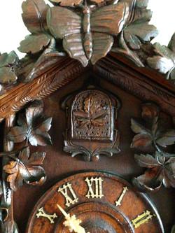 Beha 509 Cuckoo Clock Front Doors