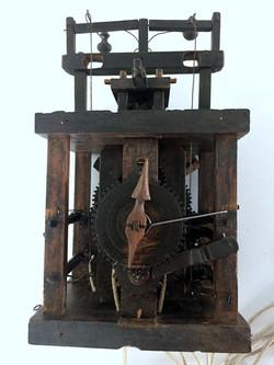 Black Forest Glass Bell Clock movement