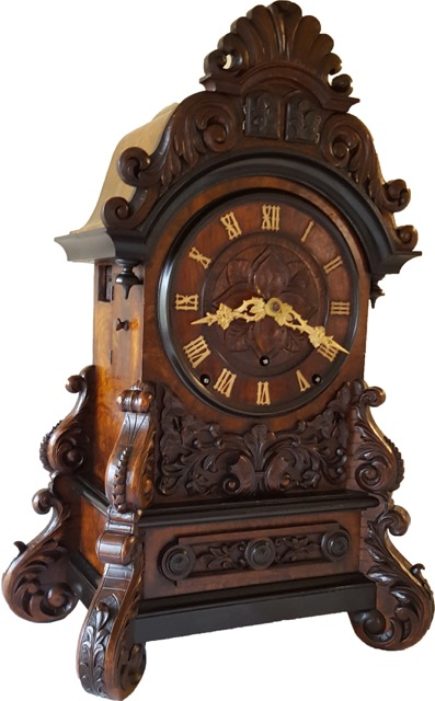 Beha 538 Black Forest Shelf Clock