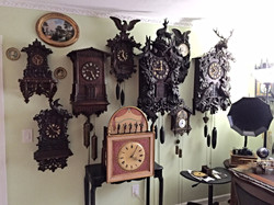 Sample Black Forest Clock Collection